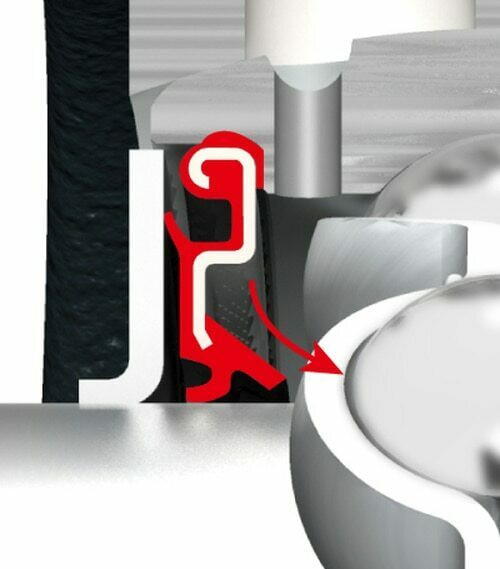 NA203 FYH Ball Bearing Insert 17 mm