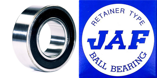 5202 2RS JAF Double Row Angular Ball Bearing Double Seal 15 X 35 X 15.9
