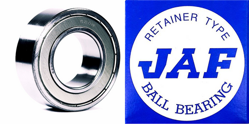 5208 ZZ JAF Double Row Angular Ball Bearing Double Shield 40 X 80 X 30.2
