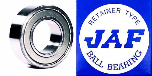 5208 ZZ JAF Double Row Angular Ball Bearing Double Shield 40 X 80 X 30.2