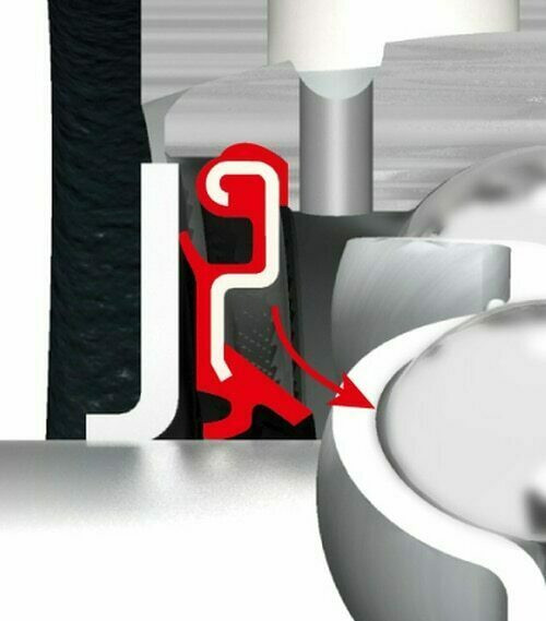 UC207-20 FYH Insert Bearing Setscrew Locking 1-1/4