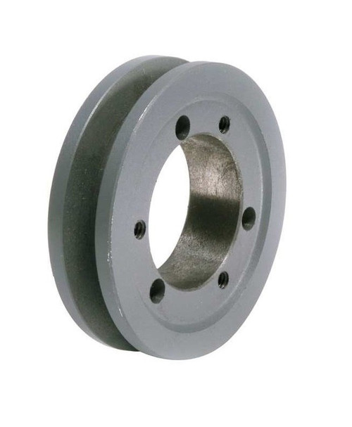 """1B250SF A/B Combination Sheave 25.35"""" O.D., 1 Groove, SF Bushed  for 4L , 5L , A , AX , B , and BX belts"""