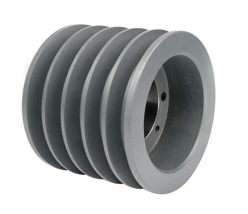5B46SD A/B Combination Sheave 4.95 O.D., 5 Groove, SD Bushed for 4L , 5L , A , AX , B , and BX belts BUSHINGS are SOLD SEPARATELY