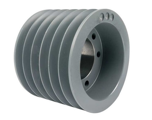 6B250E A/B Combination Sheave 25.35 O.D., 6 Groove, E Bushed for 4L , 5L , A , AX , B , and BX belts BUSHINGS are SOLD SEPARATELY