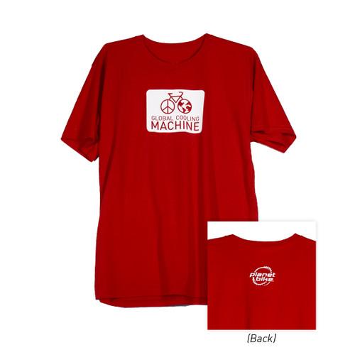 Global Cooling Machine T-Shirt