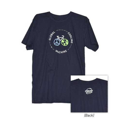 Global Cooling Machine Full Circle T-Shirt
