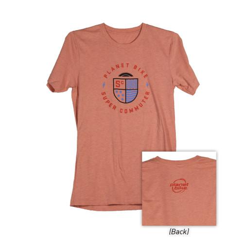 Planet Bike Super Commuter T-Shirt (Coral)