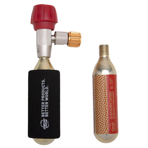 Red Zeppelin CO2 bike tire inflator