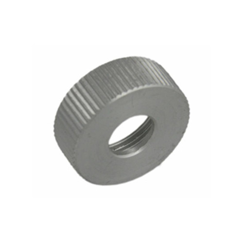 Aluminum valve cap for mini pumps