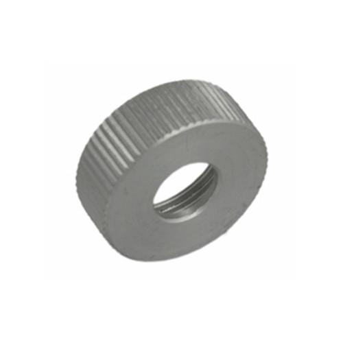 Aluminum valve cap for mini pumps