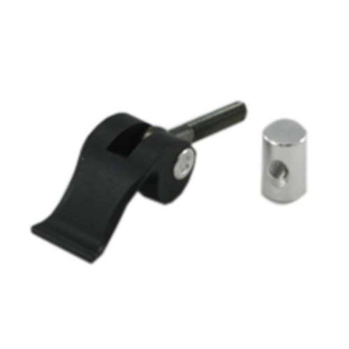 QuickCam bracket lever and cylinder