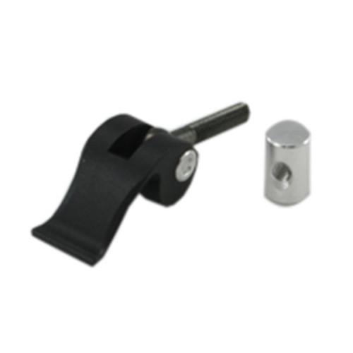 QuickCam bracket lever and cylinder
