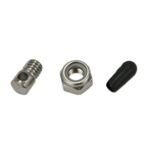 Fender stay eyebolt, nut & rubber cap