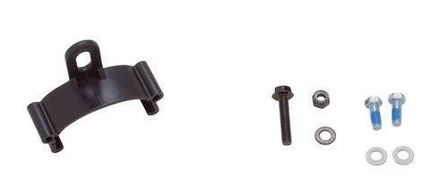 Hardcore Recumbent fender hardware kit (50mm)