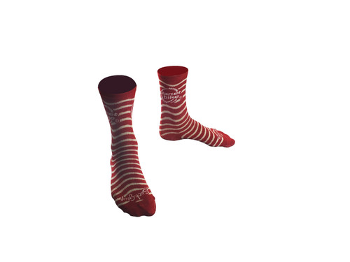 Planet Bike cycling socks - Red - Wool