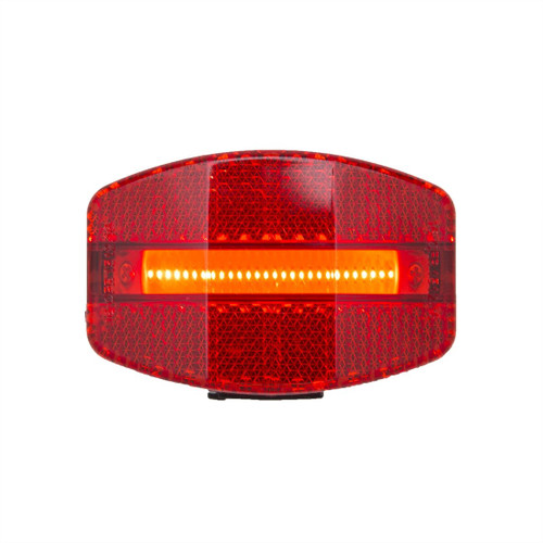 Grateful Red USB bike tail light