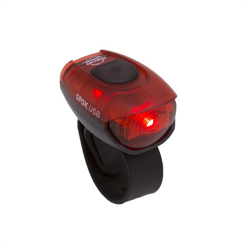 Spok USB bike tail light