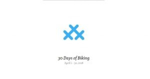 30 Days of Biking in April