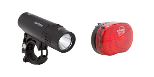 Meet the Beamer 80 / Blinky 3 Compact Urban Bike Light Combo Set