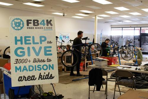 FB4K's Madison Bike Donation Season Starts Sept. 18th