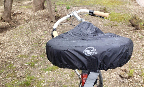 Planet Bike Releases Cruiser Sized Waterproof Seat Cover