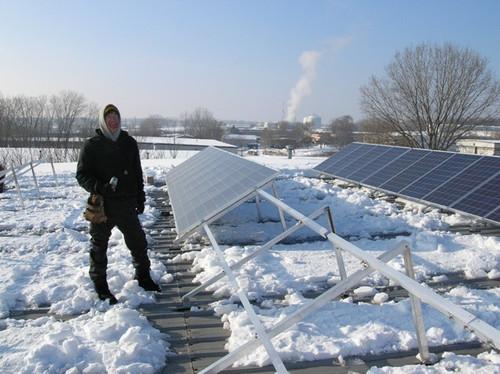 Planet Bike Goes Solar