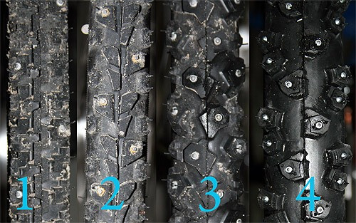 Planet Bike Employee Winter Tire Selection