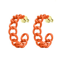 Game Day Petite Chain Hoops