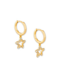 Jae Star Crystal Huggie Earring