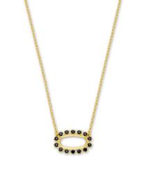 Elisa Open Frame Necklace