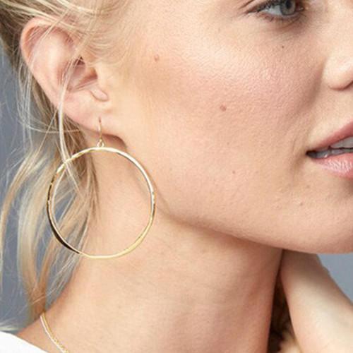 G Ring Earrings: Gold
