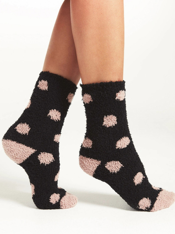 Dot Plush Sock