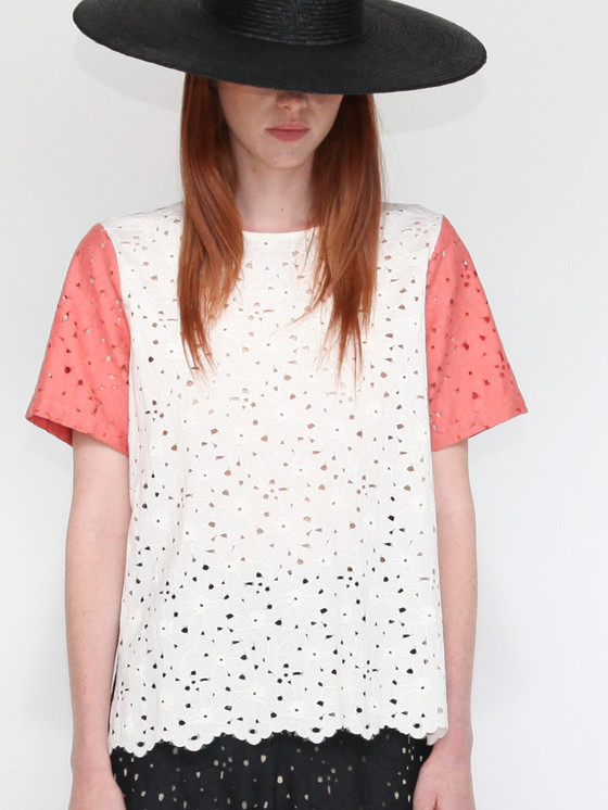 Catalina Lace Blouse