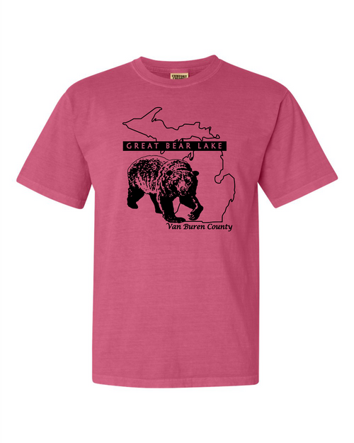2019 Great Bear Lake Comfort Colors T Crunchberry