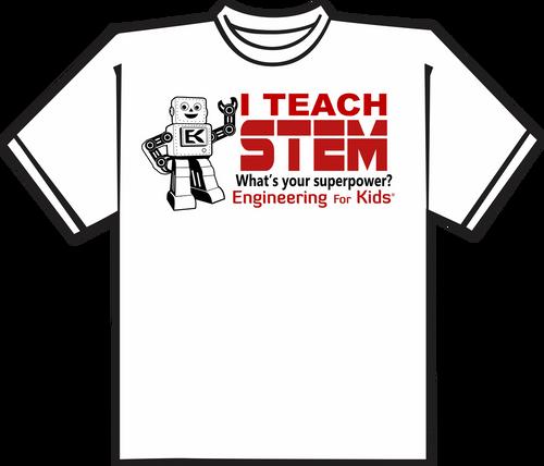 EFK I Teach STEM Tshirt
