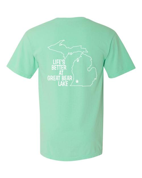 Island Reef T-shirt Back Logo