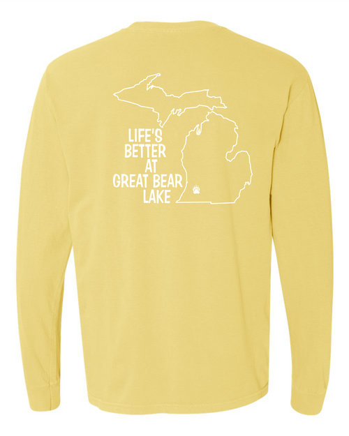 Butter Long Sleeve T Back Logo