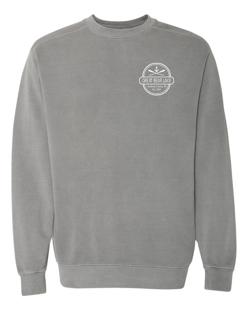 Great Bear Lake Comfort Colors Sweatshirt Grey