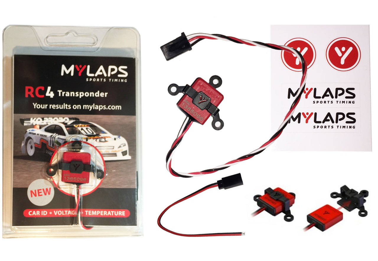 MyLaps RC4 Transponder (3-wire)