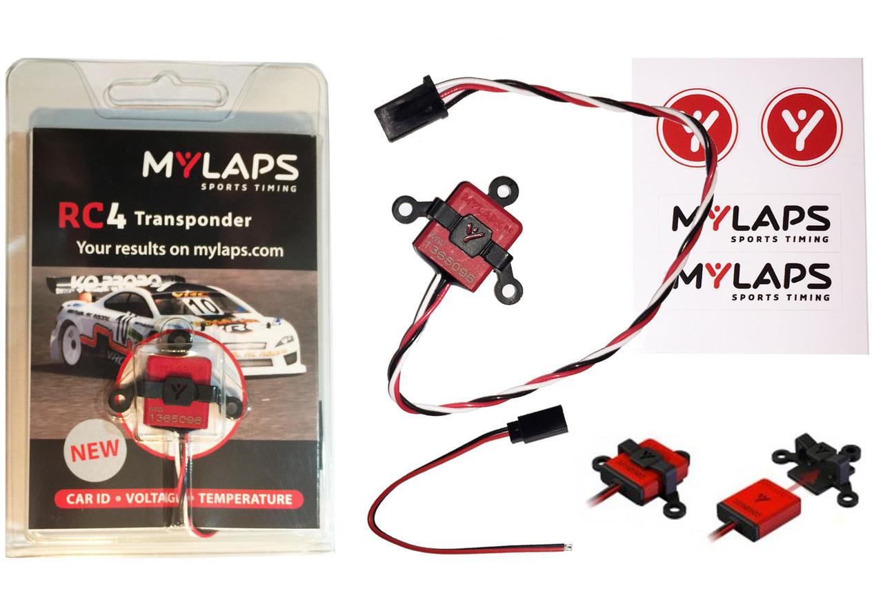MyLaps RC4 Transponder (3-wire)