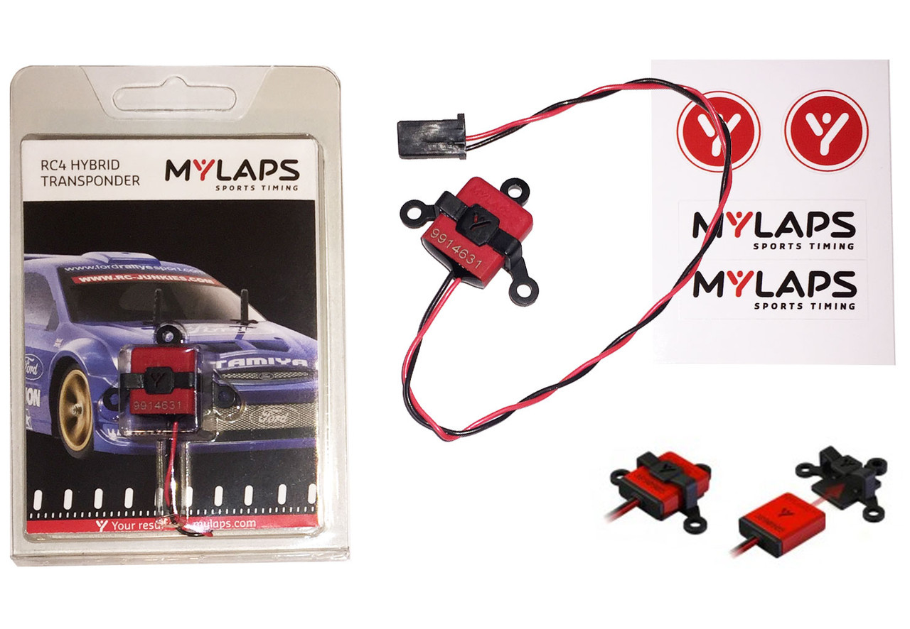MyLaps Hybrid RC4 Transponder (2-wire)