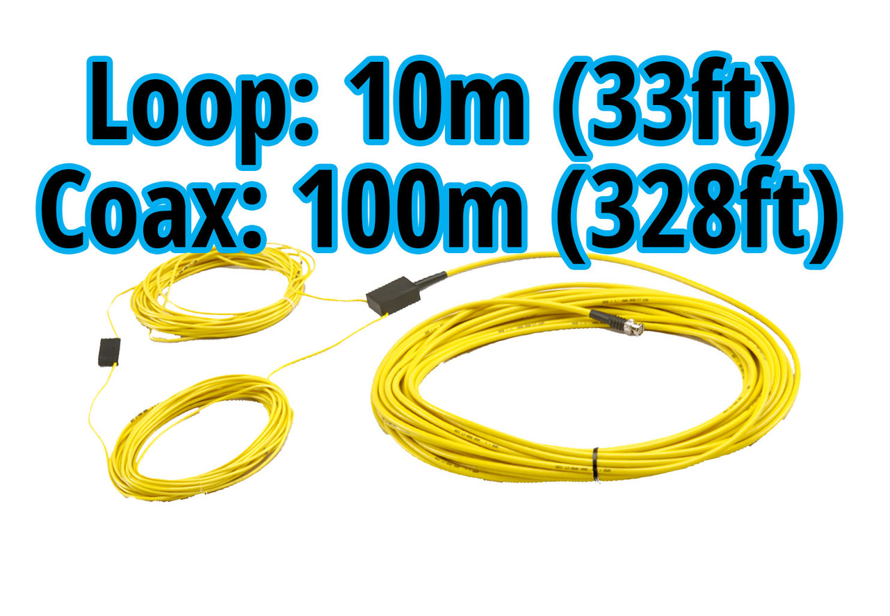 MyLaps 100m/328ft Connection Box/Coax and 10m/33ft Detection Loop Combo