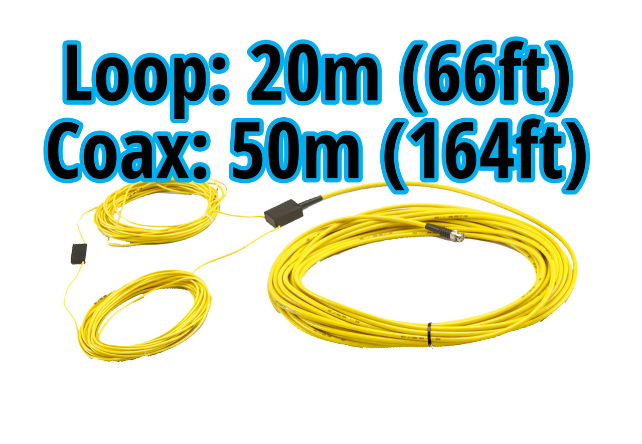 MyLaps 50m/164ft Connection Box/Coax and 20m/66ft Detection Loop Combo