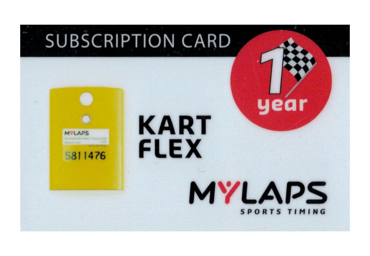 MyLaps Flex subscription renewal, 1-year kart [Renew instantly @ X2renew.com]