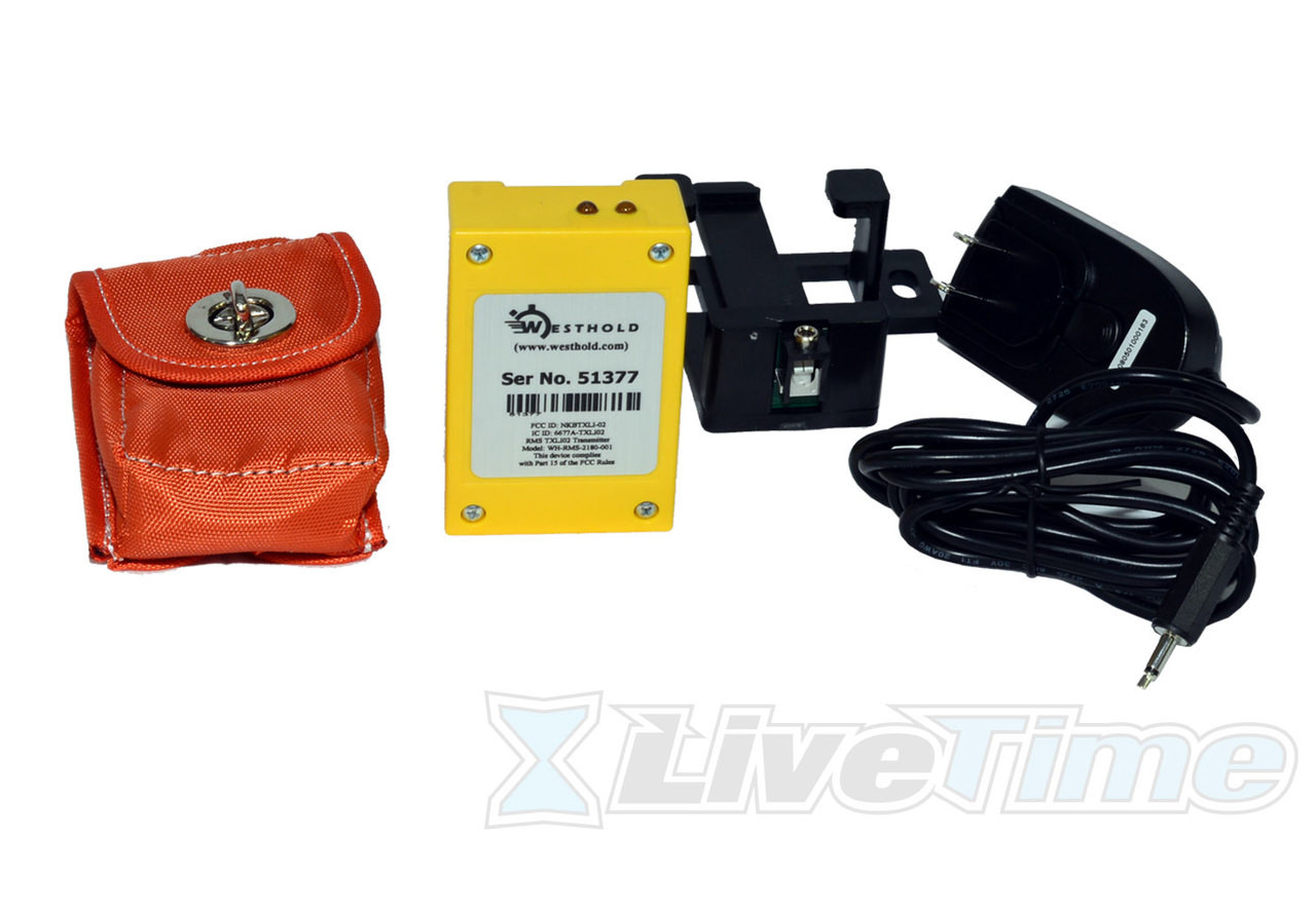 Westhold Rechargeable Transponder Combo with Charger and Pouch
