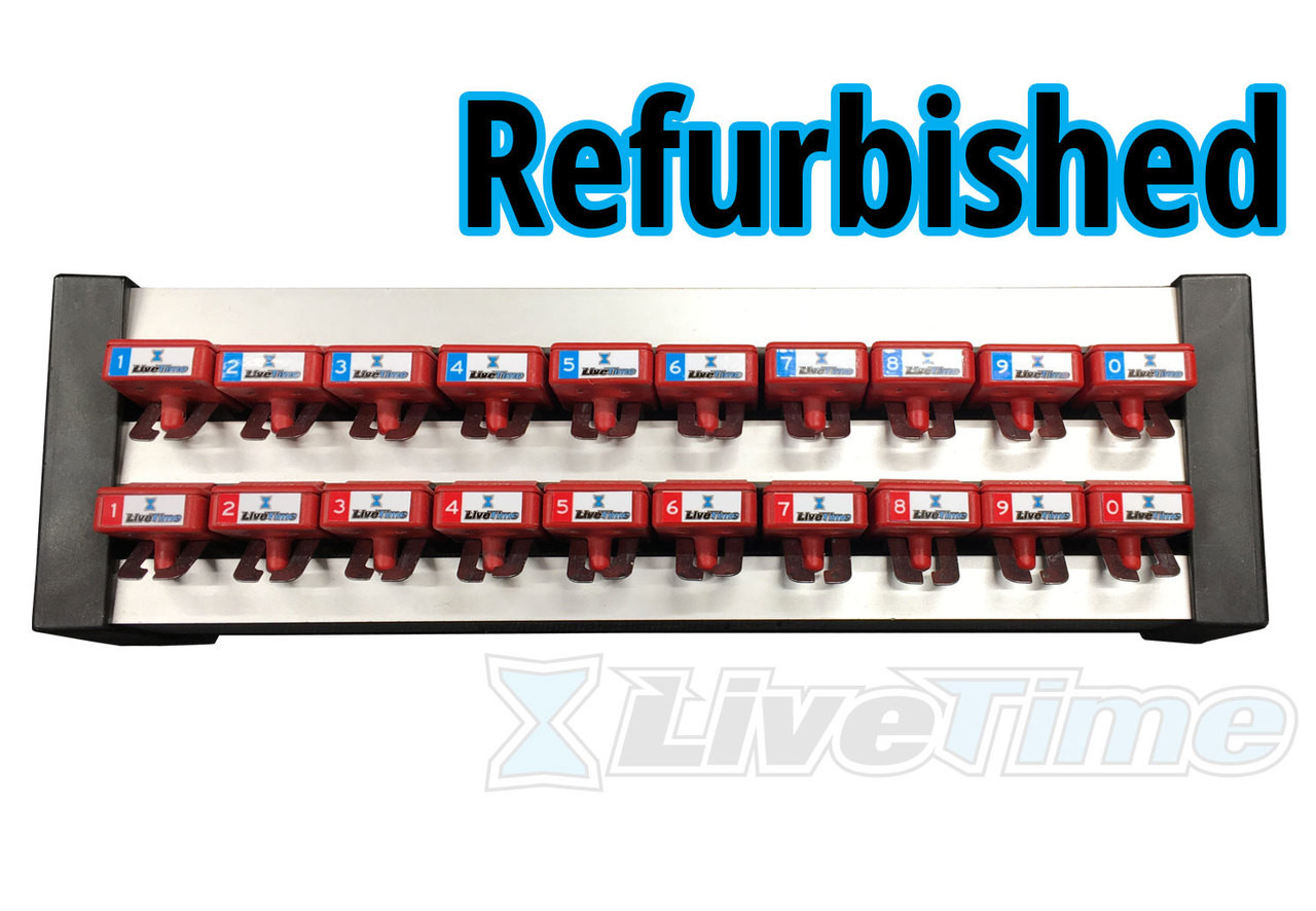 MyLaps House Transponders - Rack of 20 (refurbished)