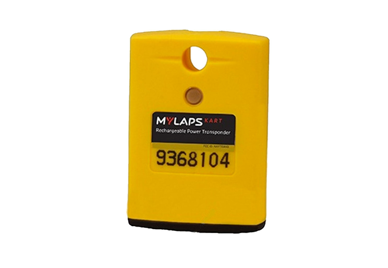 MyLaps Classic Rechargeable Transponder (Kart), no subscription required