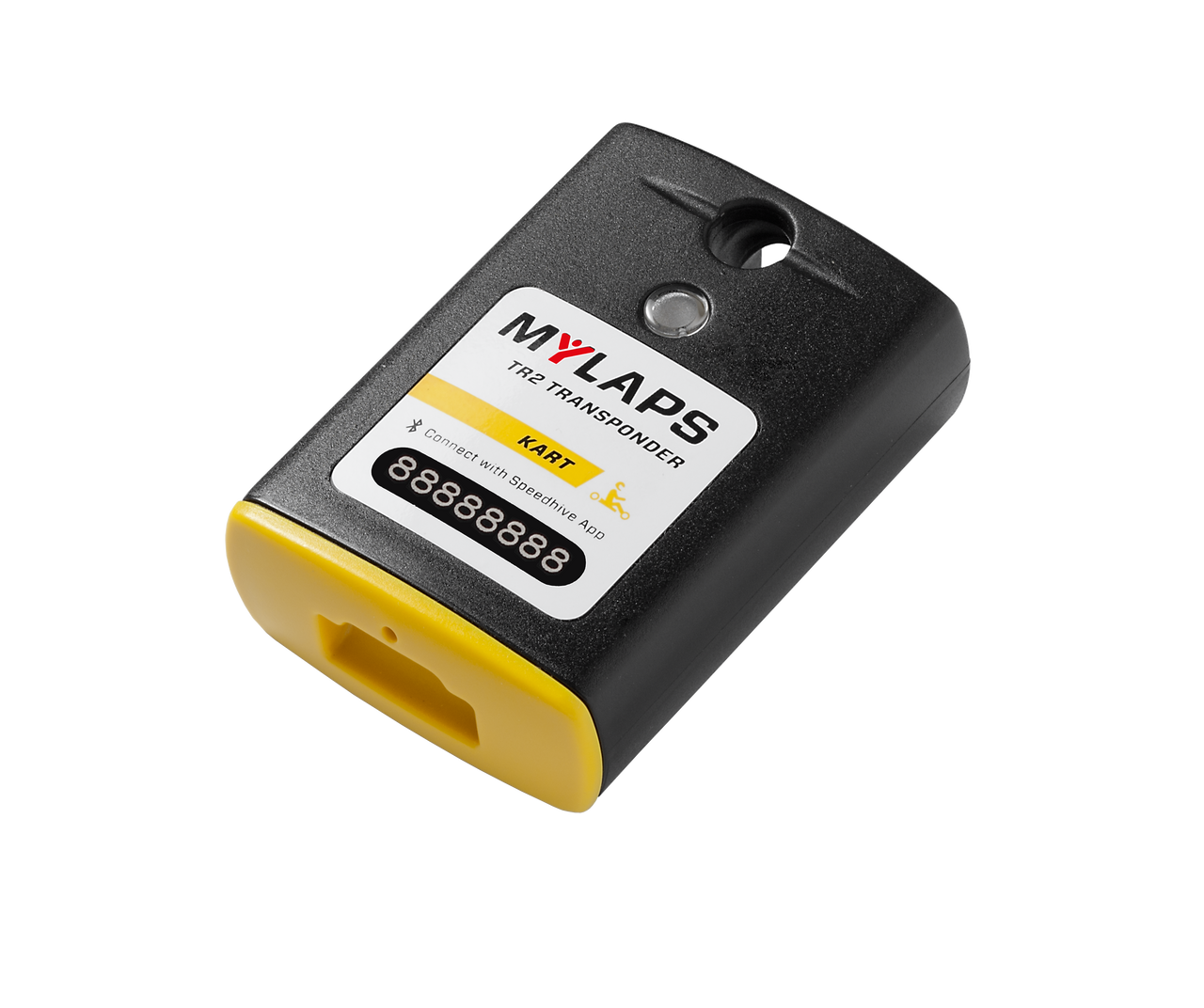 MyLaps TR2 Rechargeable Transponder (Kart), 1-year subscription