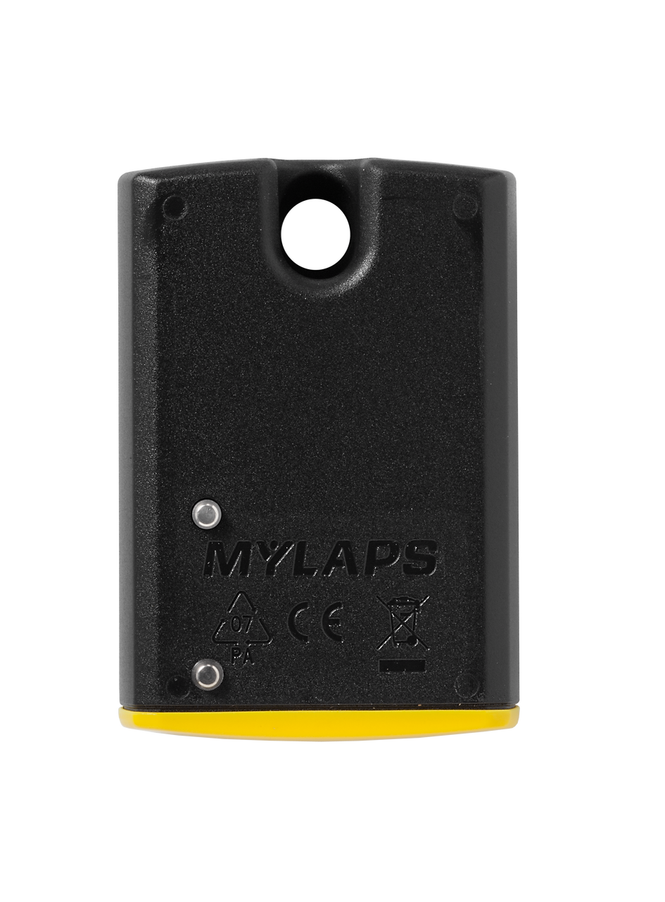 MyLaps TR2 Rechargeable Transponder (Kart), 2-year subscription