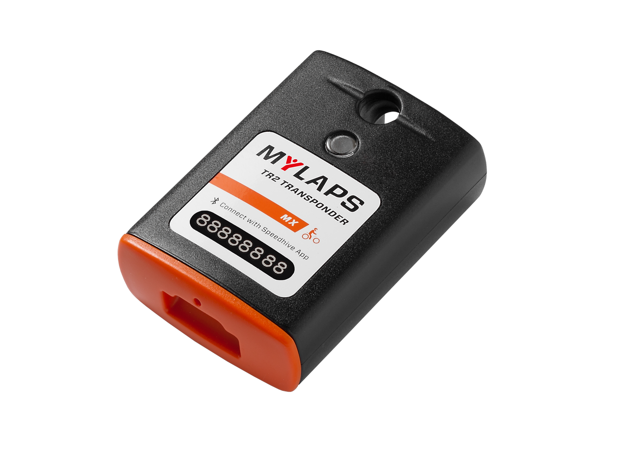 MyLaps TR2 Rechargeable Transponder (MX), 2-year subscription